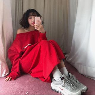 スタイルナンダ(STYLENANDA)のstyle nanda♡スウェットワンピース(ロングワンピース/マキシワンピース)