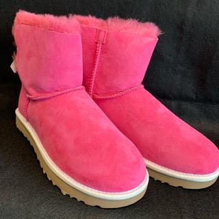 アグ(UGG)の【UGG アグ】 ブーツ ミニ ベイリー ボウ W/PAZ サイズ7 24cm(ブーツ)