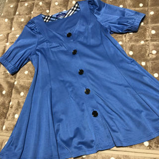バーバリーブルーレーベル(BURBERRY BLUE LABEL)のバーバリーブルーレーベル トップス(カットソー(半袖/袖なし))
