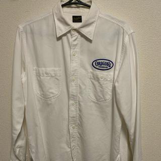 TENDERLOIN - TENDERLOIN ワッペン付ワークシャツ