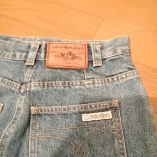 カルバンクライン(Calvin Klein)のカルバン・クライン デニムスカート 値下げしました(ひざ丈スカート)