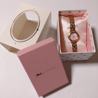 ジルバイジルスチュアート(JILL by JILLSTUART)の新品同様 美品*ジルバイジルスチュアート 時計 ピンク プレゼント (腕時計)