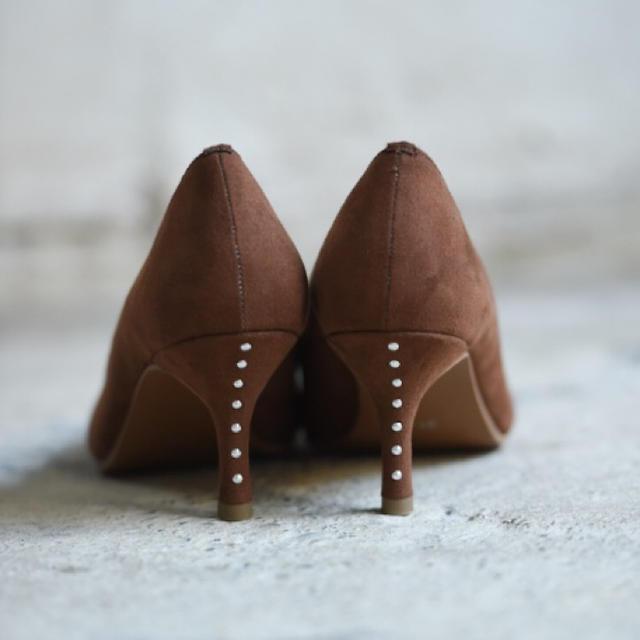 velikoko(ヴェリココ)のコラボ商品 ポインテッドトゥパンプスヴェリココラクチンきれいパンプス  レディースの靴/シューズ(ハイヒール/パンプス)の商品写真