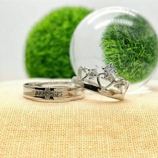 ❤即日発送 2個セット❤ シルバー925⭐高品質⭐ペアリング フリーサイズz(リング(指輪))