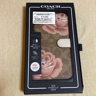 コーチ(COACH)のiPhone11proケース COACH 花柄 手帳型ケース(iPhoneケース)