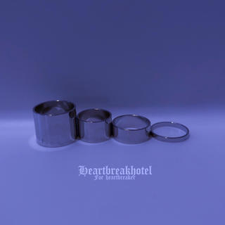 バブルス(Bubbles)の♥️ Vintage Silver Metallic Rings Set(リング(指輪))