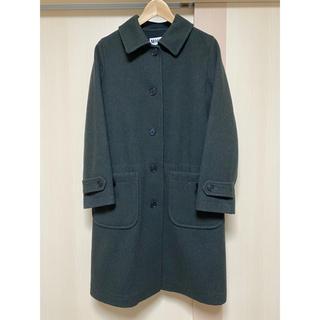 マーガレットハウエル(MARGARET HOWELL)のマーガレット ハウエル MHL. wool coat  size1 khaki(ロングコート)