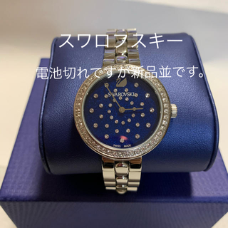 SWAROVSKI - 腕時計  スワロフスキー  美品  電池切れ
