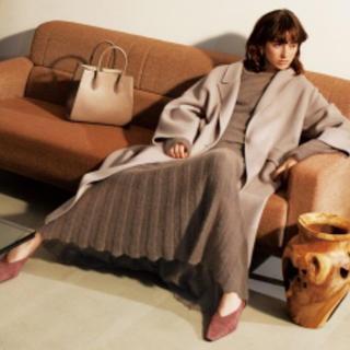 ミラオーウェン(Mila Owen)のミラオーウェン 今季大人気 ロングコート 新品 アイボリー(ロングコート)