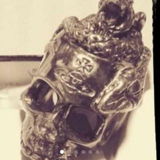 ヴィヴィアンウエストウッド(Vivienne Westwood)のレア!廃盤☆希少品☆Vivienne Westwoodヴァニティリング(リング(指輪))
