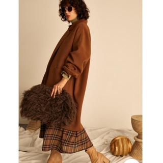 ミラオーウェン(Mila Owen)のミラオーウェン ハーフコート 今季人気 新品 ブラウン 7号(チェスターコート)