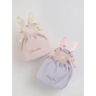 Honey Salon - 新品 ハニーサロン うさぎ 巾着 ピンク