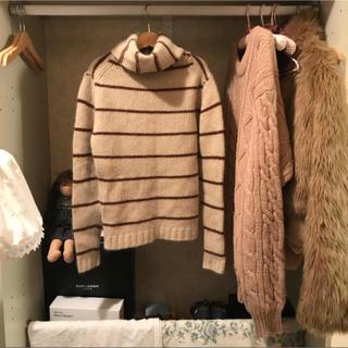 ロキエ(Lochie)のfrance vintage boarder knit.(ニット/セーター)