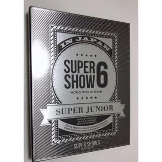 スーパージュニア(SUPER JUNIOR)のSUPERJUNIOR SUPERSHOW6 in japan ブルーレイ(ミュージック)
