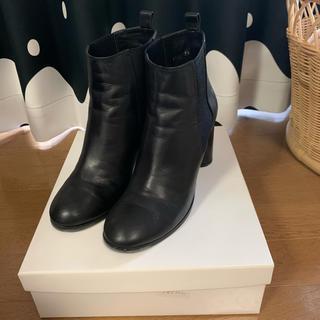 ツモリチサト(TSUMORI CHISATO)のtsumori chisato walk サイドゴアショートブーツ 美品(ブーツ)