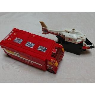 トミー(TOMMY)の【TOMY】トミー ハイパーレスキュー02とヘリコプター(電車のおもちゃ/車)