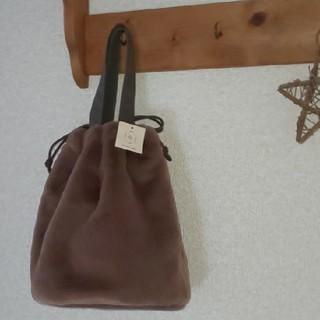 サマンサモスモス(SM2)のSM2◇エコファー巾着バッグ◇サマンサモスモス(ハンドバッグ)