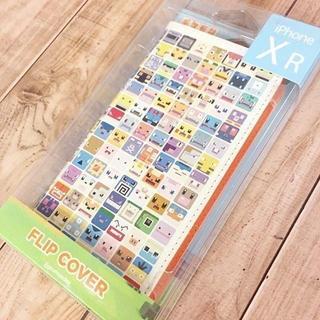 ポケモン(ポケモン)のポケモン クエスト iPhoneXR フリップカバー POKE611A(iPhoneケース)