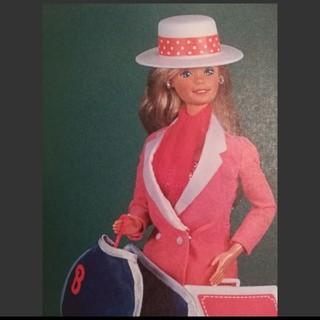 バービー(Barbie)のバービー人形 帽子(ぬいぐるみ/人形)