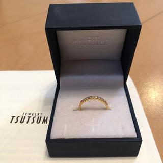 ジュエリーツツミ(JEWELRY TSUTSUMI)のツツミ ハーフエタニティk18 ダイヤモンドリング(リング(指輪))