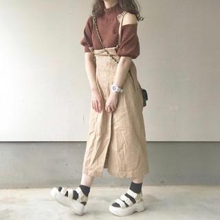 mysty woman - 2wayバックルタイトロングスカート
