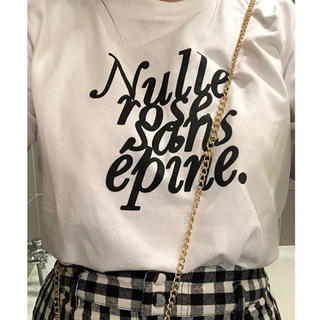 ロキエ(Lochie)の最終お値下げ!epine tシャツ 白(Tシャツ(半袖/袖なし))