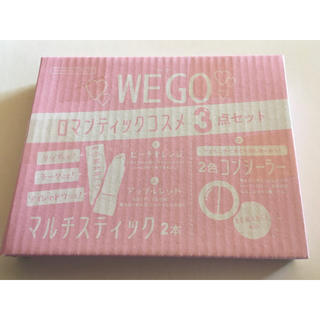 ウィゴー(WEGO)の【nicola 2019年11月号付録】WEGO ロマンティックコスメ3点セット(その他)