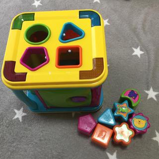 知育 音の鳴る おもちゃ ひかる パズル ブロック(知育玩具)