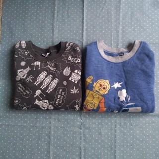 コストコ(コストコ)のCostco スターウォーズトレーナー2枚set(Tシャツ/カットソー)
