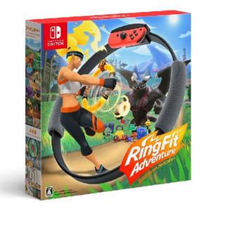 ニンテンドースイッチ(Nintendo Switch)のスイッチ  リングフィット アドベンチャー(家庭用ゲーム機本体)