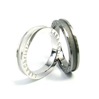 クリスマスプレゼントや記念日に★LARA Christie ペアリング(リング(指輪))