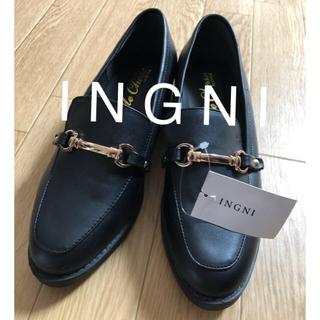 イング(INGNI)の新品★INGNIイング★ビットローファーM(ローファー/革靴)