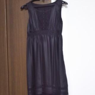 ミッシェルクラン(MICHEL KLEIN)のMICHEL KLEINのパーティードレス  美品(ミディアムドレス)
