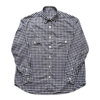 ポーター(PORTER)のPorter Classic - ROLL UP GINGHAM /ブラック M(シャツ)