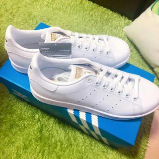 アディダス(adidas)の【新品】 アディダスオリジナルス スタンスミス  W/W/G(スニーカー)