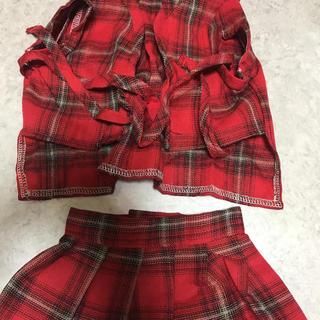お洋服  シャツとスカート(犬)