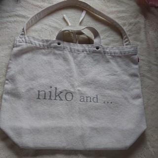 ニコアンド(niko and...)のNiko and…トートバッグ♡(トートバッグ)