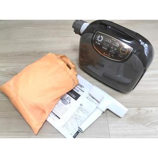 ミツビシデンキ(三菱電機)の三菱ふとん乾燥機 AD-X80 説明書、専用マット、掃除機ノズル付き(衣類乾燥機)