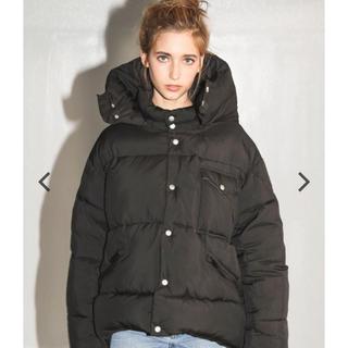 アリシアスタン(ALEXIA STAM)のアリシアスタン Oversized Padded Jacket Black(ダウンコート)