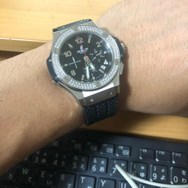 シャネル偽物見分け | HUBLOT - HUBLOT 時計の通販 by たろちゃん's shop