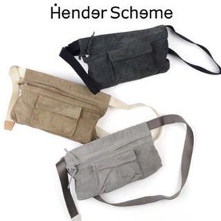 エンダースキーマ(Hender Scheme)のエンダースキーマ  ウェストベルトバッグ ベージュ(ショルダーバッグ)