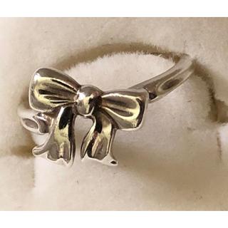 ティファニー(Tiffany & Co.)のティファニー リボン リング シルバー926 12号(リング(指輪))