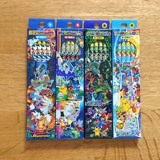 ポケモン(ポケモン)の【新品】ポケモン   かきかた鉛筆 B 4ダース  4種類(鉛筆)