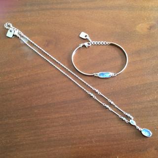 エル(ELLE)のELLE ネックレス&ブレスレットのセット(ネックレス)