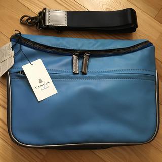 ランバンオンブルー(LANVIN en Bleu)の75%OFF‼︎  未使用品 LANVIN en Bleu  ショルダーバッグ (ショルダーバッグ)