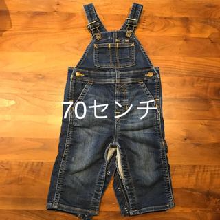 ベビーギャップ(babyGAP)のGAP☆70センチ☆デニムカバーオール(カバーオール)