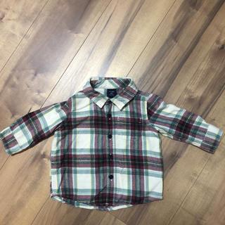ギャップ(GAP)の【GAP】キッズ チェックシャツ 70cm(シャツ/カットソー)