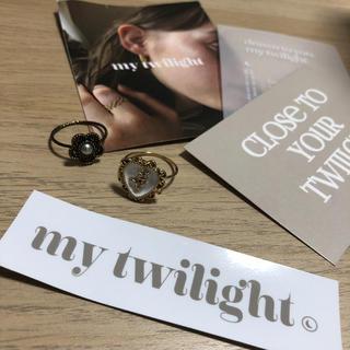 新品 my twilight リング(リング(指輪))