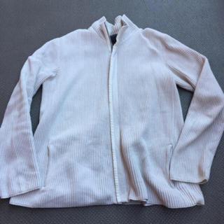 カルバンクライン(Calvin Klein)のCalvin Klein カルバンクライン CK リブニットジャケット サイズL(ニット/セーター)