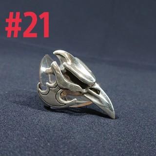 silver925 カラスring#21(リング(指輪))